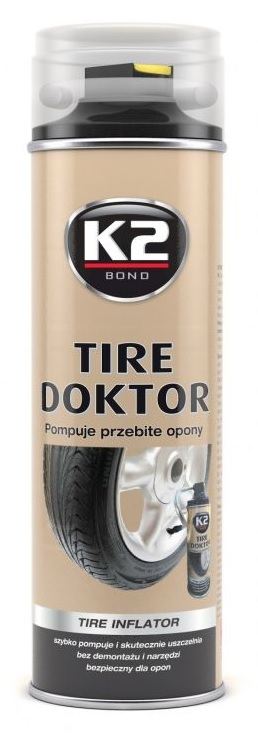 K2 Tire Doktor do opon 535ml